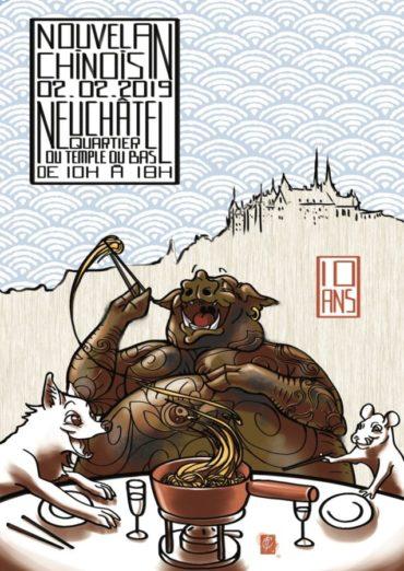 Nouvel An Chinois à Neuchâtel